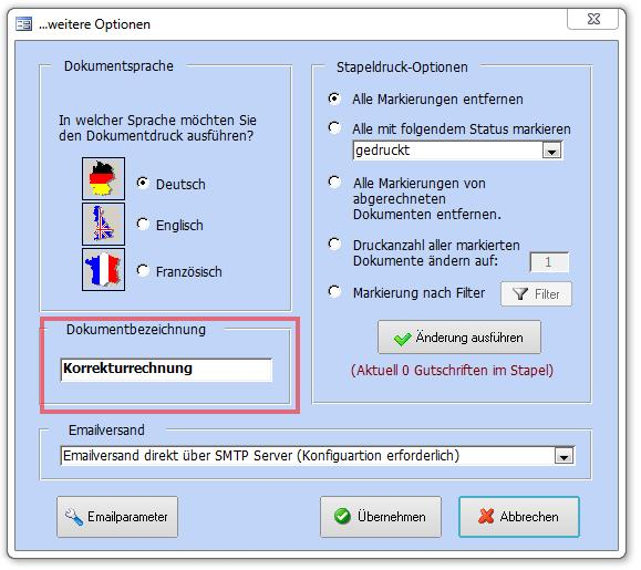 Gutschriften Erstellen Faktura Xp Warenwirtschaft Handbuch Und Wiki