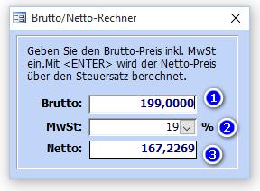 Netto Rechner