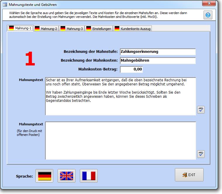 Texte Faktura Xp Warenwirtschaft Handbuch Und Wiki