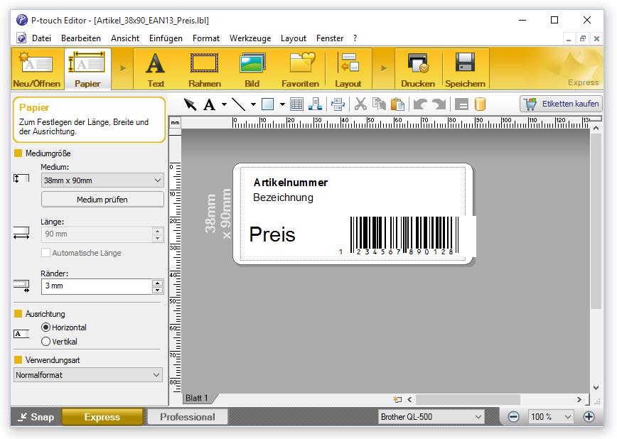 Anhang 6 (Etiketten und Aufkleber) – Faktura-XP Warenwirtschaft ...