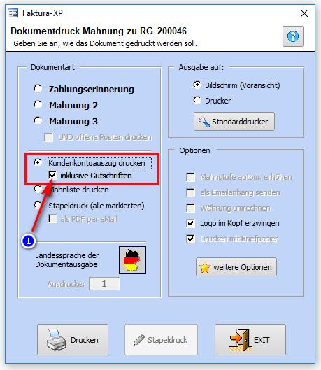 Mahnwesen Faktura Xp Warenwirtschaft Handbuch Und Wiki