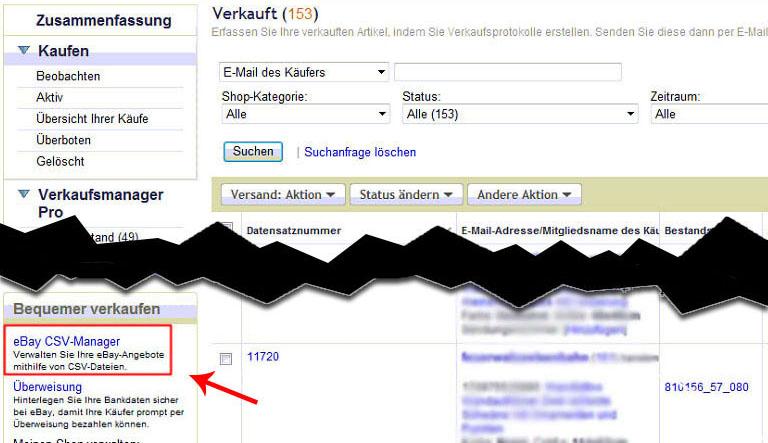 Ebay Import Faktura Xp Warenwirtschaft Handbuch Und Wiki