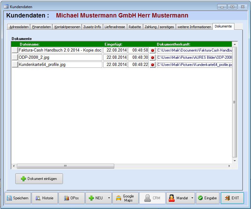 Crm Mailoffice Faktura Xp Warenwirtschaft Handbuch Und Wiki