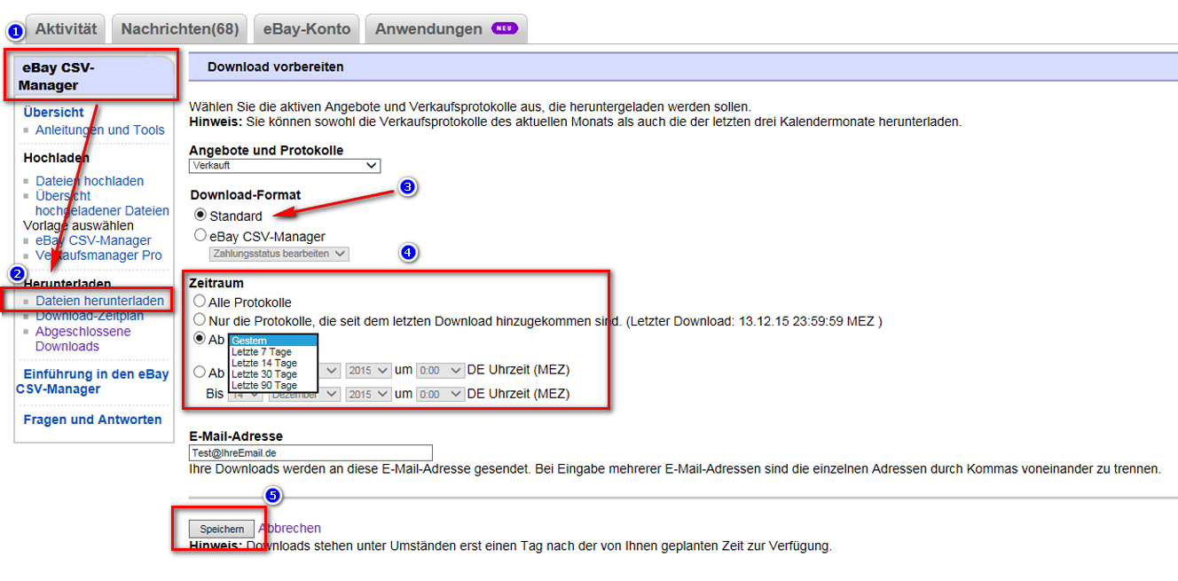 ebay verkaufsprotokolle